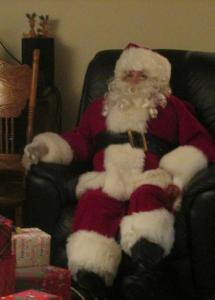 Mom as Santa