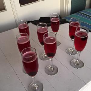 cranberry champagne